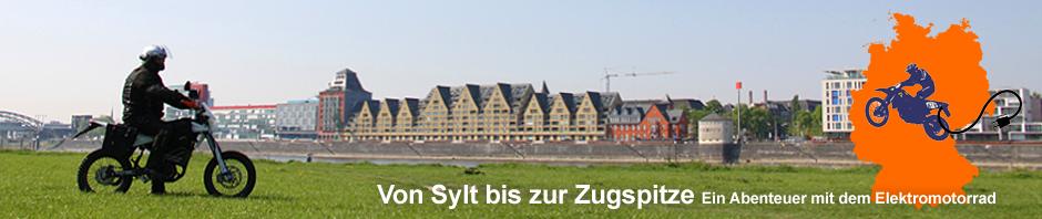 deutschland per steckdose erstmals von sylt bis auf die zugspitze mit dem elektromotorrad. Black Bedroom Furniture Sets. Home Design Ideas