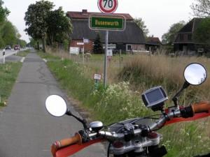 Busenwurth zwischen Heide und Brunsbüttel