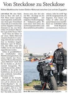 Schlewsig-Holstein-Zeitung Sylter Rundschau 29.04.11